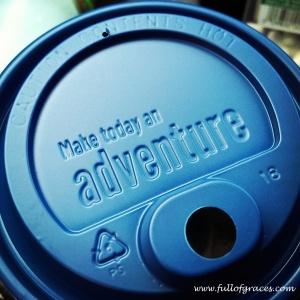 Dutch Bros is the local drive-through coffee joint. We love them, not the least because of their awesome coffee lids.
