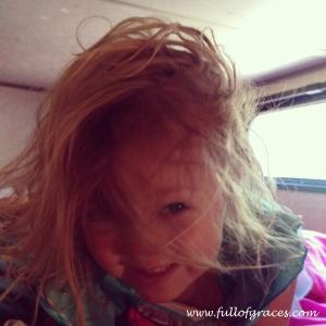 Hair courtesy of Lake Siskiyou.